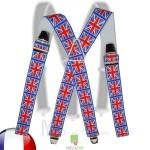 Bretelles drapeau Anglais homme
