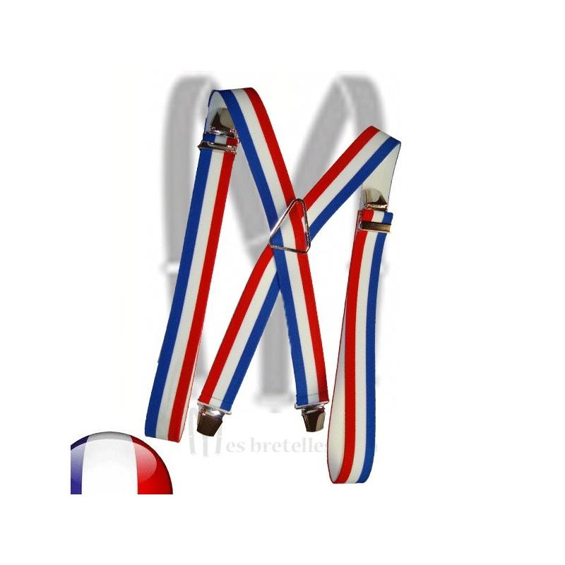 Bretelles couleur de la France