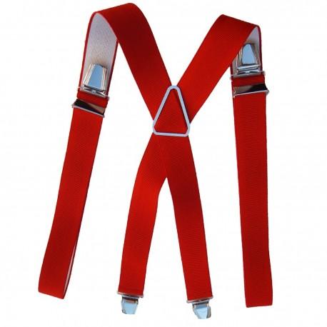 Bretelle 120 cm rouge