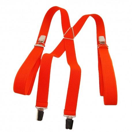 Bretelles homme 25mm orange