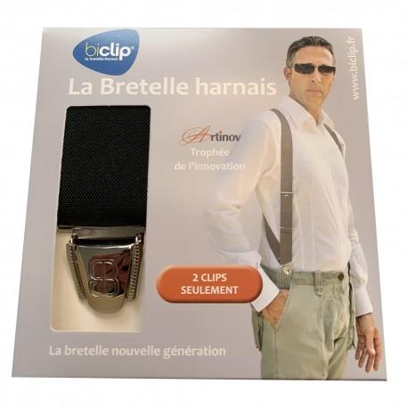 Bretelles homme Biclip® 2 pinces