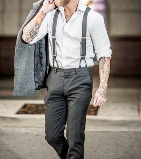 Bretelles de différentes taille pour homme, de la fantaisie et de la couleur, en finition cuir , avec des pinces solides ou en finition boutons. Réglage simple et produit en stock